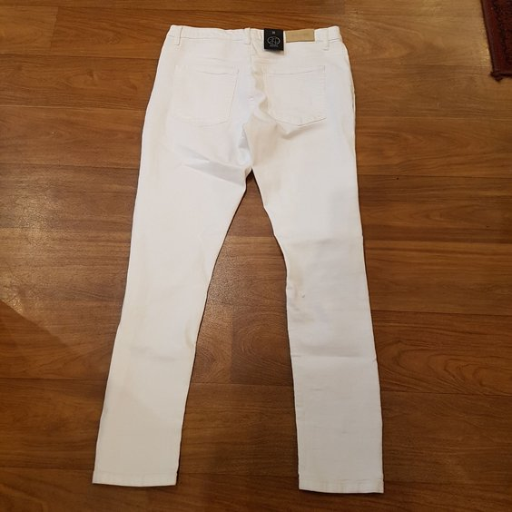 2ND ONE JEANS - LILY RIPPED WHITE 2