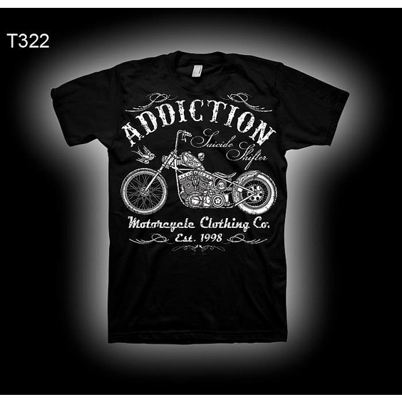 ADDICTION T-SHIRT B - SUISIDE