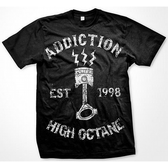 ADDICTION T-SHIRT - HIGH OCTANE
