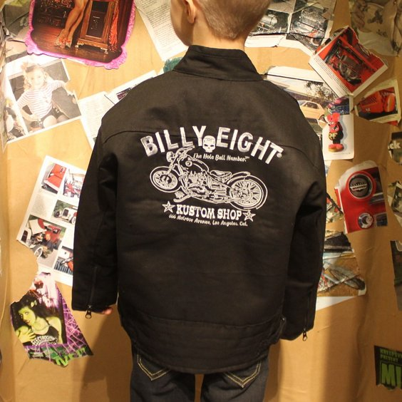 BILLY EIGHT ARBETSJACKA BARN - MC