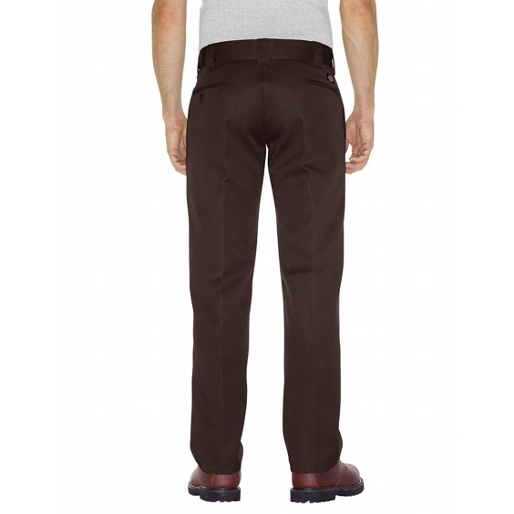 DICKIES BYXOR 873 SLIM STRAIGHT - DARK BROWN 2