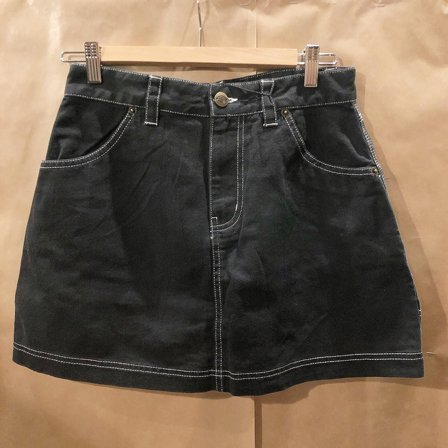 DICKIES KJOL - SHONGALOO BLACK 2