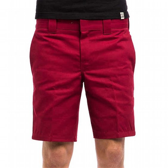 DICKIES SHORTS - PALM SPRINGS RED 2