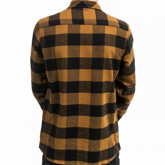 DICKIES SKJORTA - SACRAMENTO BROWN DUCKY 2