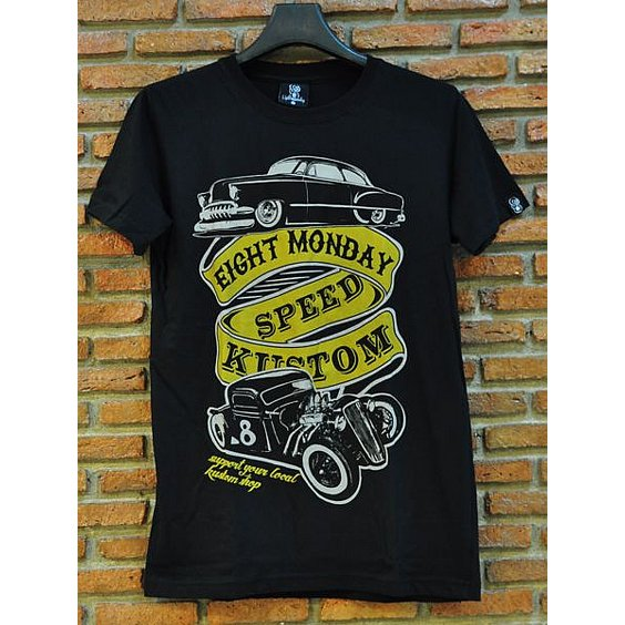 EIGHT MONDAY T-SHIRT - SPEED KUSTOM