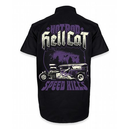 HOTROD HELLCAT SKJORTA - SPEED KILLS