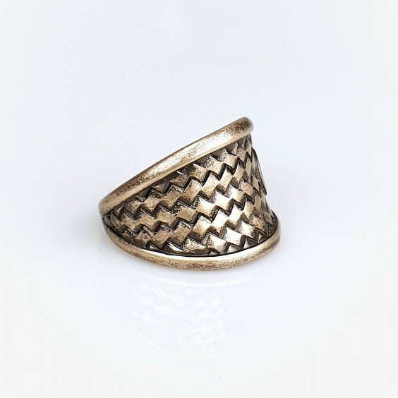 JERNHEST RING - FLORENCE BRASS RING 4