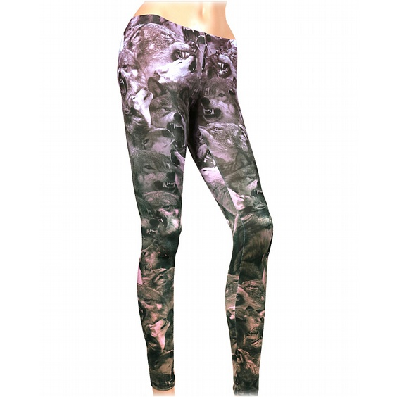 LIQOURBRAND LEGGINGS - WOLF