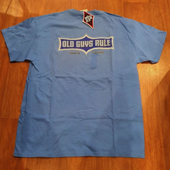 OLD GUYS RULE T-SHIRT - ORIGINAL 2