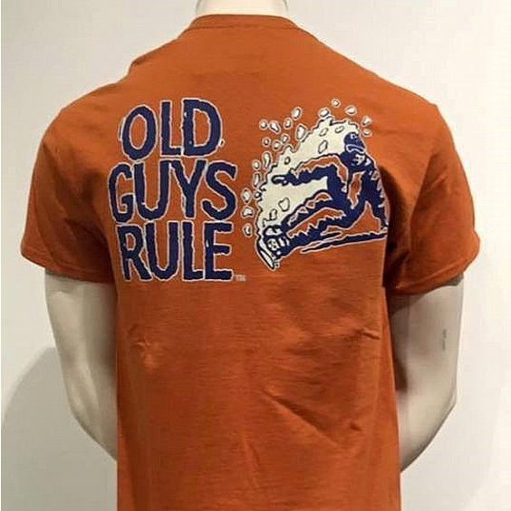 OLD GUYS RULE T-SHIRT - SWOBORDING