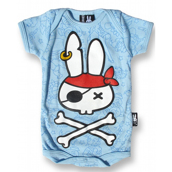 SIX BUNNIES BODY - PIRATE BUNNY