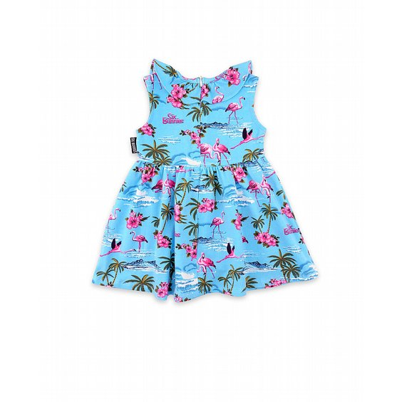 SIX BUNNIES SET - FLAMINGOS BLUE 3