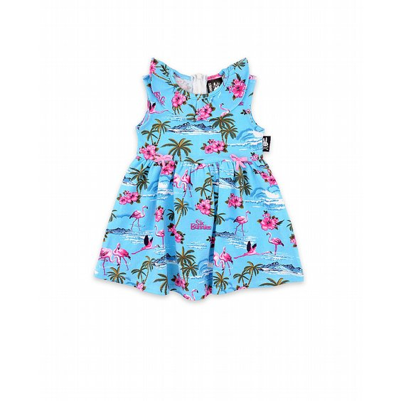 SIX BUNNIES SET - FLAMINGOS BLUE 2