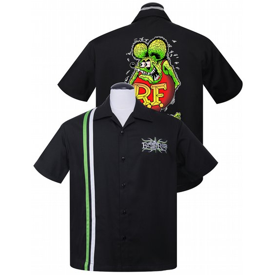 STEADY CLOTHING SKJORTA - RAT FINK ROTH RACER 3