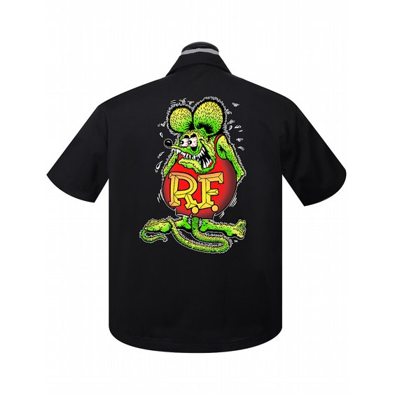 STEADY CLOTHING SKJORTA - RAT FINK ROTH RACER 2