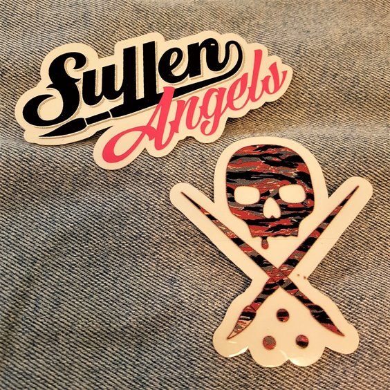 SULLEN STICKER - ANGELS/DÖSKALLE