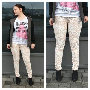 2ND ONE JEANS - NICOLE SOFT ANIMAL