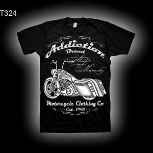 ADDICTION T-SHIRT B - BIKE BAGGER