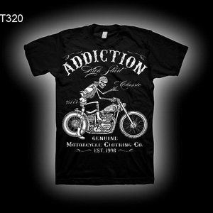 ADDICTION T-SHIRT B - KICK START