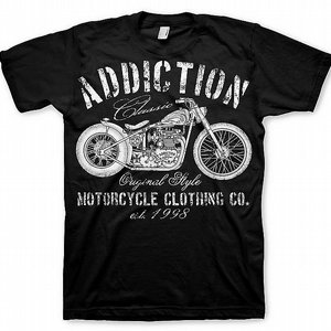 ADDICTION T-SHIRT - CLASSIC