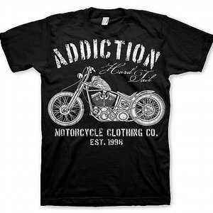 ADDICTION T-SHIRT - HARD TAIL
