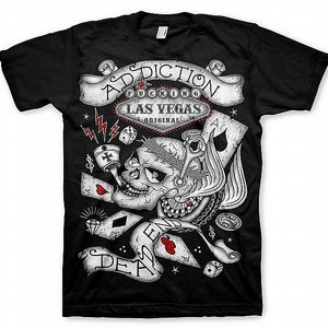 ADDICTION T-SHIRT - LAS VEGAS
