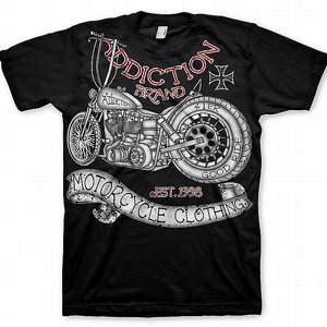ADDICTION T-SHIRT - MC CLOTHING