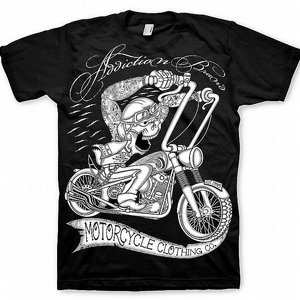 ADDICTION T-SHIRT - MC SKULL