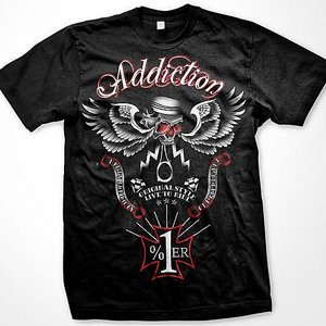 ADDICTION T-SHIRT - ORIGINAL STYLE