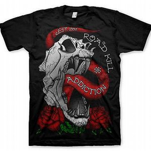 ADDICTION T-SHIRT - ROAD KILL