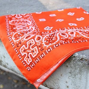BANDANA - P ORANGE BRINNANDE 3 thumbnail