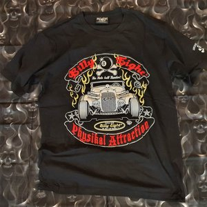 BILLY EIGHT TEE - FLAMING HOTROD