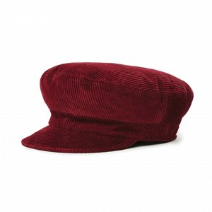 BRIXTON KEPS - FIDDLER CAP - UNSTRUCTURED - MAROON