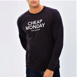 CHEAP MONDAY CRENECK - BLACK