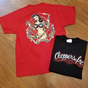 CHOPPERS INK TEE - MECK GIRL RÖD