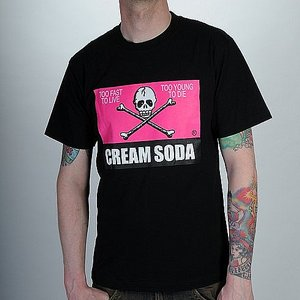 CREAM SODA T-SHIRT - LOGO ROSA