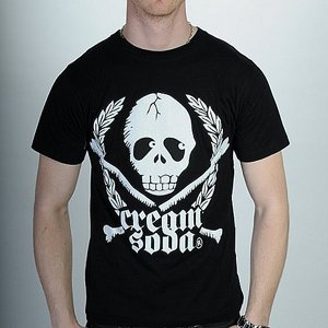 CREAM SODA T-SHIRT - SKULL SODA
