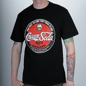 CREAM SODA T-SHIRT - SODA RÖD