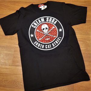 CREAM SODA T-SHIRT - SOUTH CAT STREET