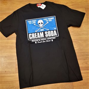 CREAM SODA T-SHIRT - TOO FAST TOO YOUNG