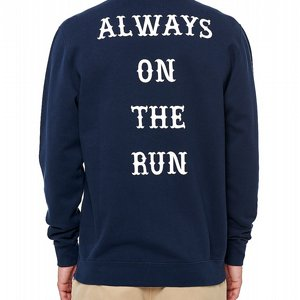 DEPALMA CREWNECK - ALWAYS ON THE RUN