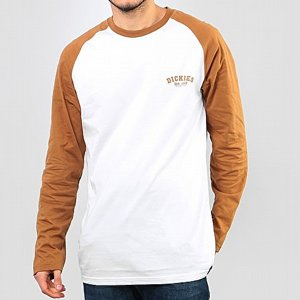 DICKIES BASEBALL TEE - BROWN DUCK/VIT