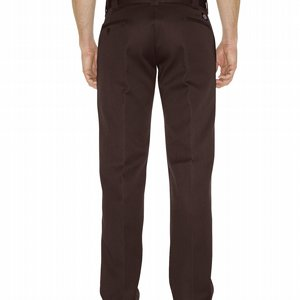 DICKIES BYXOR 873 SLIM STRAIGHT - DARK BROWN 2 thumbnail