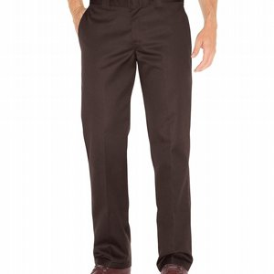 DICKIES BYXOR 873 SLIM STRAIGHT - DARK BROWN thumbnail