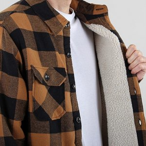 Dickies Jacka Fodrad flanell Lansdale maroon | rebellclothes