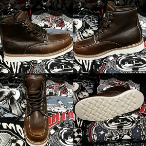 DICKIES KÄNGA - ILINOIS DARK BROWN thumbnail