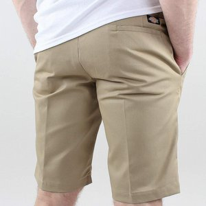 DICKIES SHORTS - 11 - SLIM STRAIGHT KHAKI
