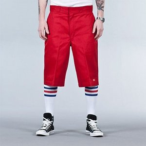 DICKIES SHORTS - MULTI-POCKET 13 ENGLISH RED
