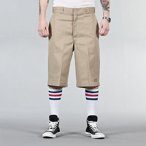 DICKIES SHORTS - MULTI-POCKET 13 KHAKI