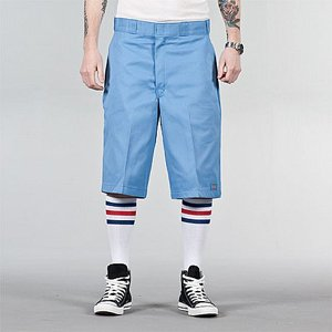DICKIES SHORTS - MULTI-POCKET 13 LIGHT BLUE